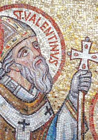 St. Valentine Was A Priest In Rome, Who Assisted The Martyrs During The  Persecutions Under Claudius II. He Also Defied A Ban On Performing  Marriages For ...